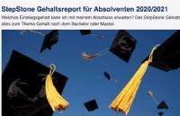 2020/2021年德国毕业生的薪资报告发布,最高年薪竟是它??
