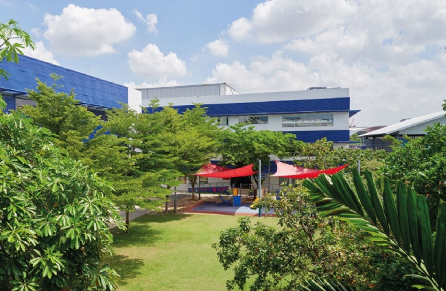 曼谷圣安德鲁斯国际学校风光