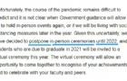 今年,英国留学生又没有毕业典礼了……