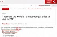 最新!阿德莱德被评为全球氛围最惬意的城市!