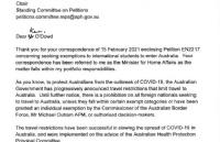 澳部长回应留学生返澳请愿!这三类学生可豁免!