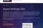 2021泰晤士世界大学影响力排名发布!17所韩国大学入围,延世大学全韩第一!
