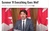 杜鲁多:加拿大今夏有望恢复出国旅行!尽快做这件事!