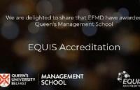 恭喜!英国女王大学管理学院荣获EQUIS认证