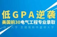 低GPA逆袭美国前30名校,电气工程录取 喜获纽约大学 圣路易斯华盛顿大学offer