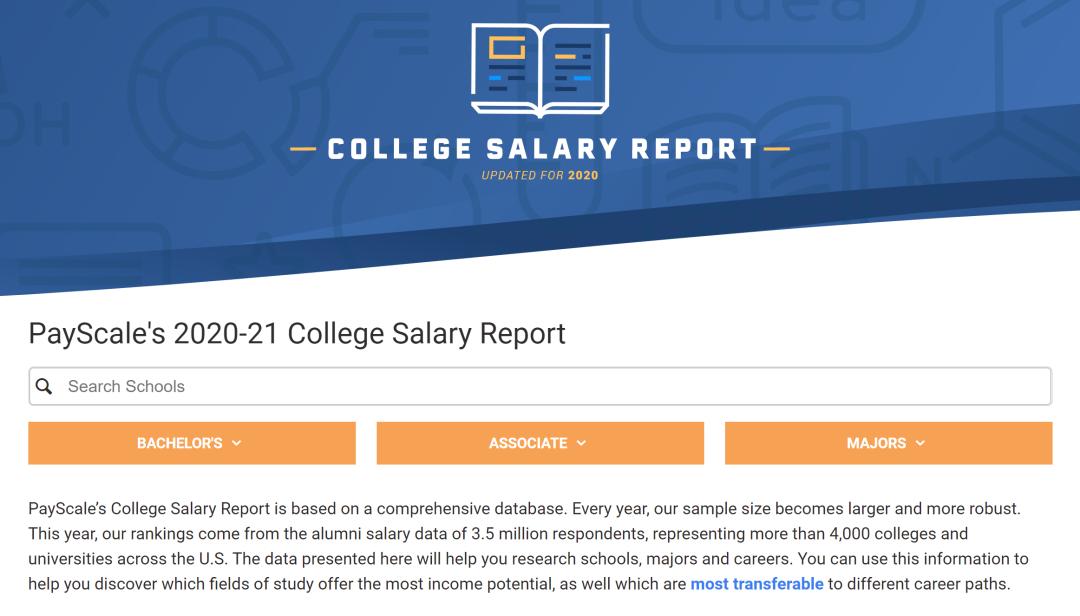 最新!美国大学毕业生薪资排行出炉!商科生笑了!