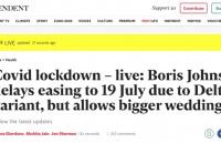 推迟解封≠重新封锁,英国最新政策你看懂了吗?