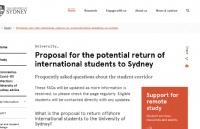 留学生返澳政策官宣:从中国直飞,六大专业优先,高校自费包机接人!