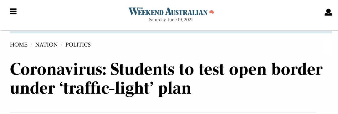 """最新!莫里森宣布留学生返澳""""红绿灯""""计划!"""