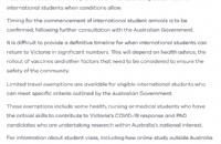 留学生返澳倒计时,各州积极准备,计划给留学生免这些费用!