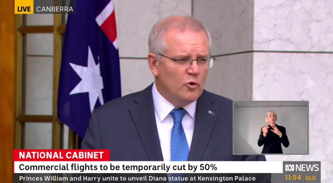 莫里森公布最新国境开放计划!留学生第二阶段开始返澳!