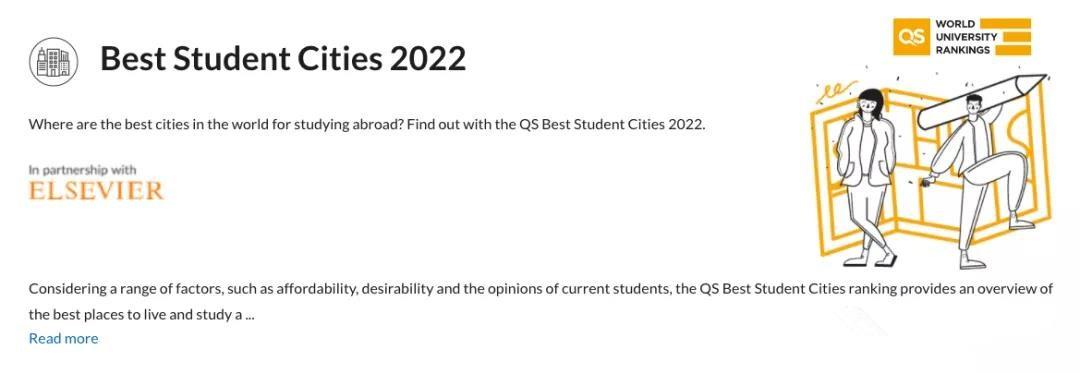 2022年QS最佳留学城市排名发布!悉尼、墨尔本跻身世界前十!