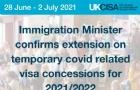 英国毕业生签证优惠延期至2022年4月6日!