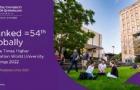 2022年泰晤士世界大学排名公布,昆士兰大学上升8位!