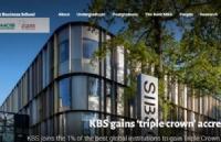 恭喜!肯特商学院已正式成为全球三重认证的商学院之一!