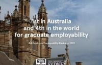 优秀!悉尼大学毕业生被评为澳大利亚最具就业竞争力学生!