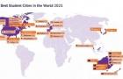 2021全球最佳留学城市榜单出炉,前十澳洲独占四席!
