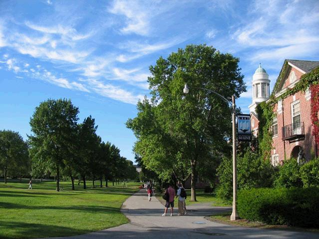 缅因大学排名