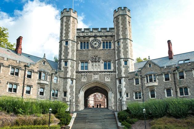 """普林斯顿大学――校训为""""为世界服务""""的大学"""
