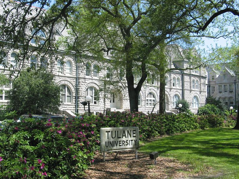 杜兰大学风景优美,还是很适宜学习的