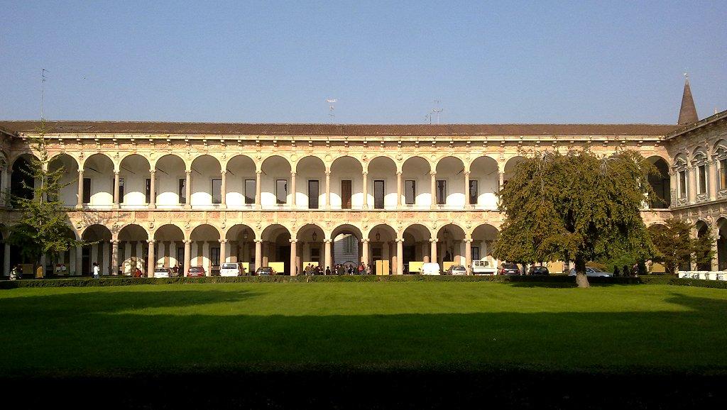 意大利座落了一所世界著名的学府,那就是米兰大学