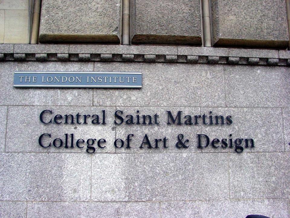伦敦中央圣马丁学院一直很优秀,你值得期待!
