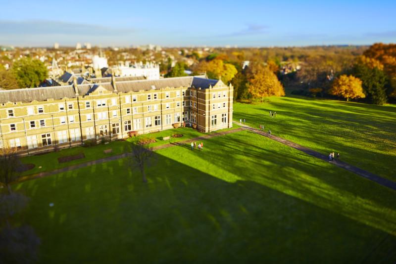 英国圣玛丽大学学院校园风光