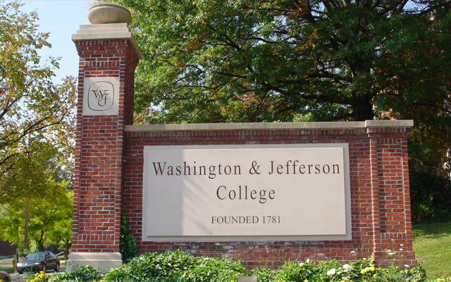 """""""最佳378高校之一""""―华盛顿与杰弗逊学院"""