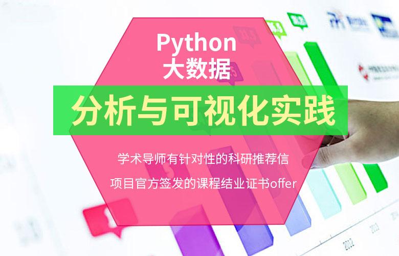 Python大数据分析与可视化实践