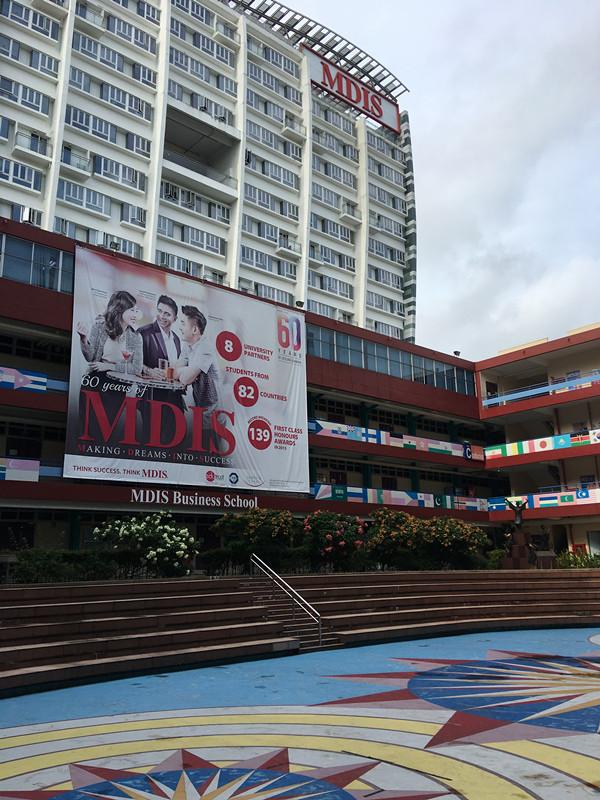 努力点可以考上新加坡管理发展学院吗?